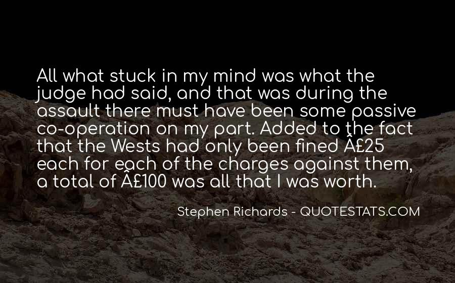 Stephen Richards Quotes #1642027