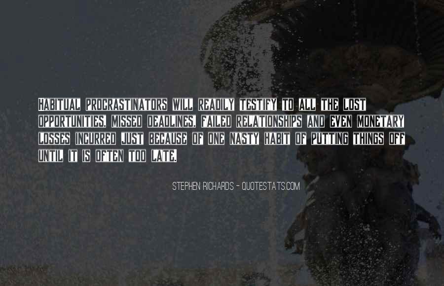 Stephen Richards Quotes #706893