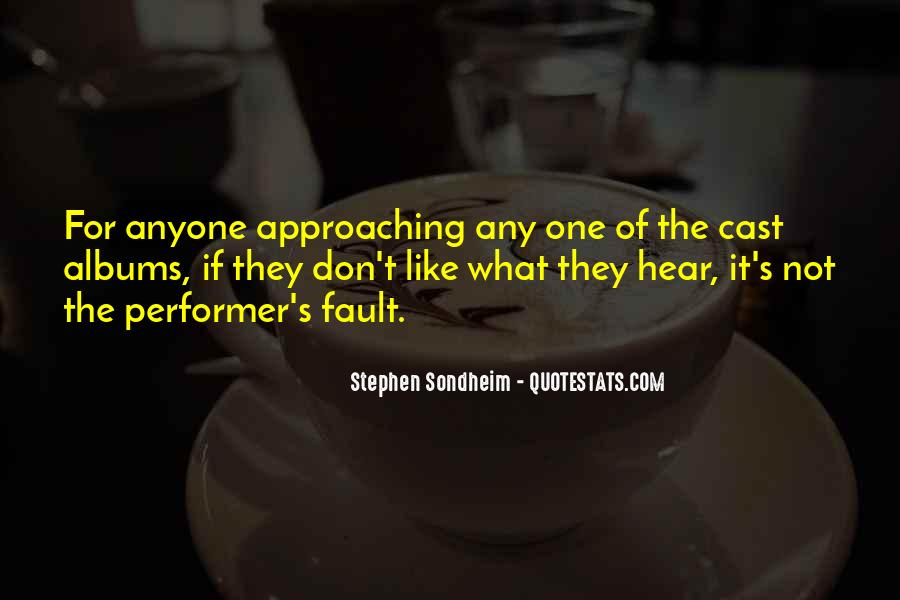 Stephen Sondheim Quotes #116903