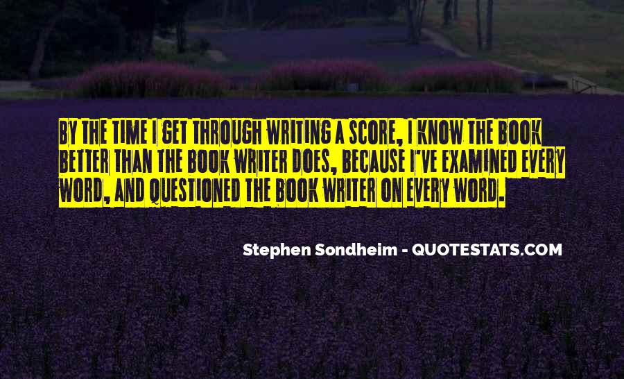 Stephen Sondheim Quotes #1341297