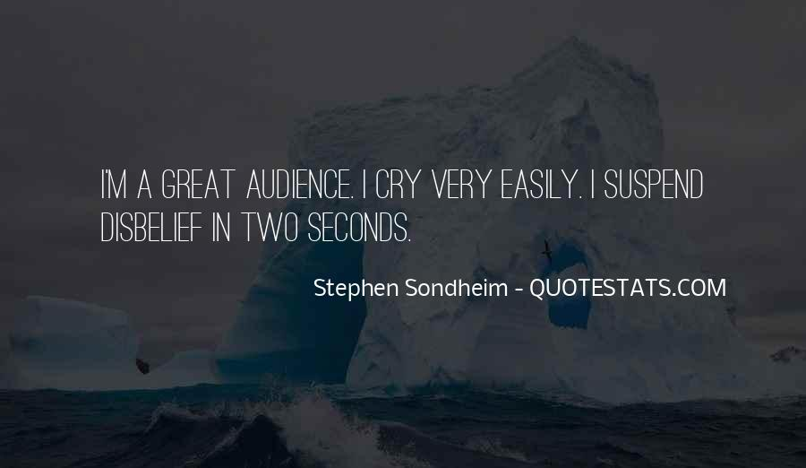 Stephen Sondheim Quotes #1455466