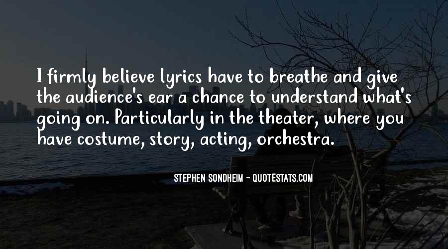 Stephen Sondheim Quotes #1514378