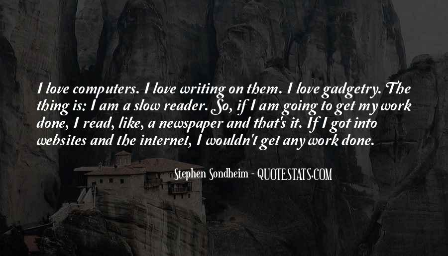 Stephen Sondheim Quotes #1540296