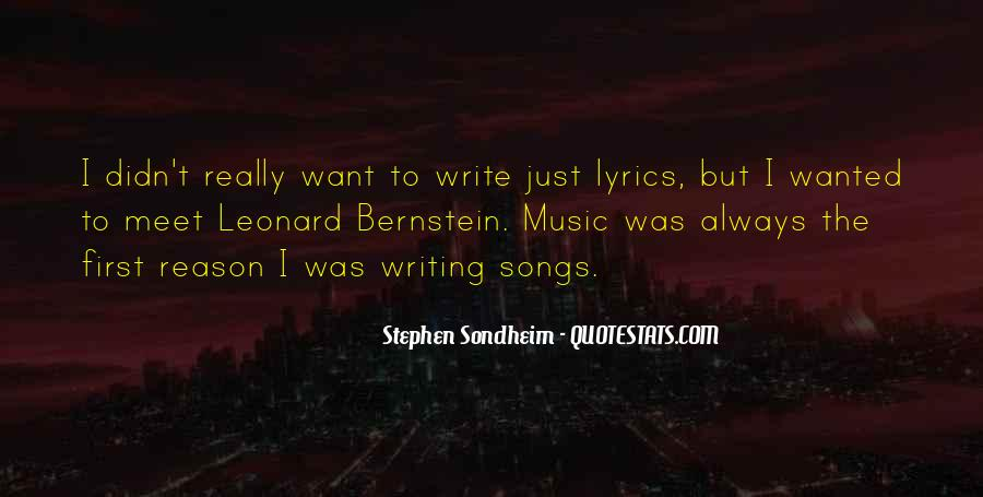 Stephen Sondheim Quotes #1800457