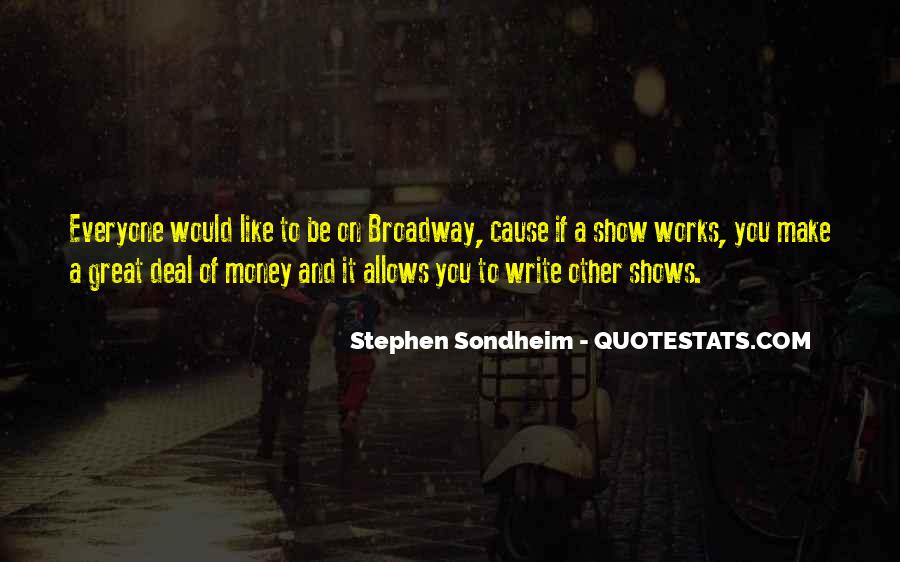 Stephen Sondheim Quotes #522965