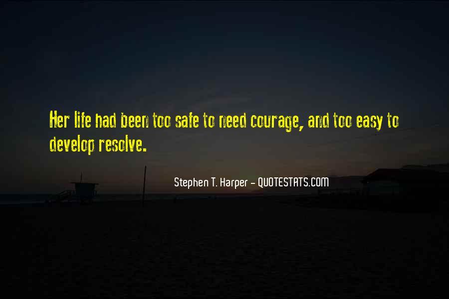 Stephen T. Harper Quotes #415052