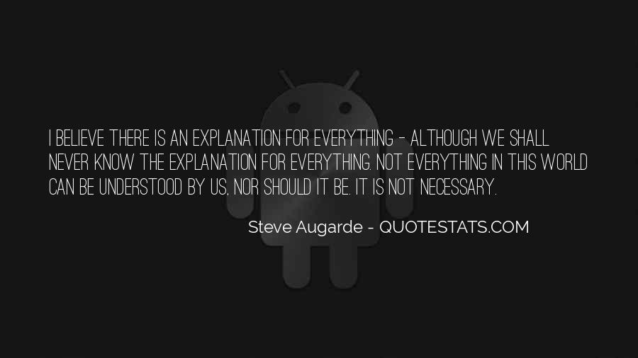 Steve Augarde Quotes #268964