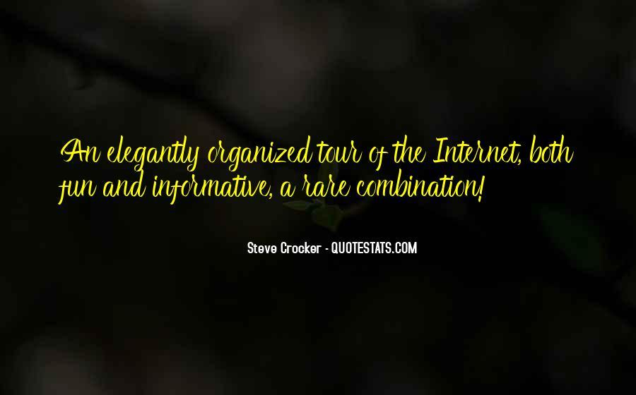 Steve Crocker Quotes #1420402