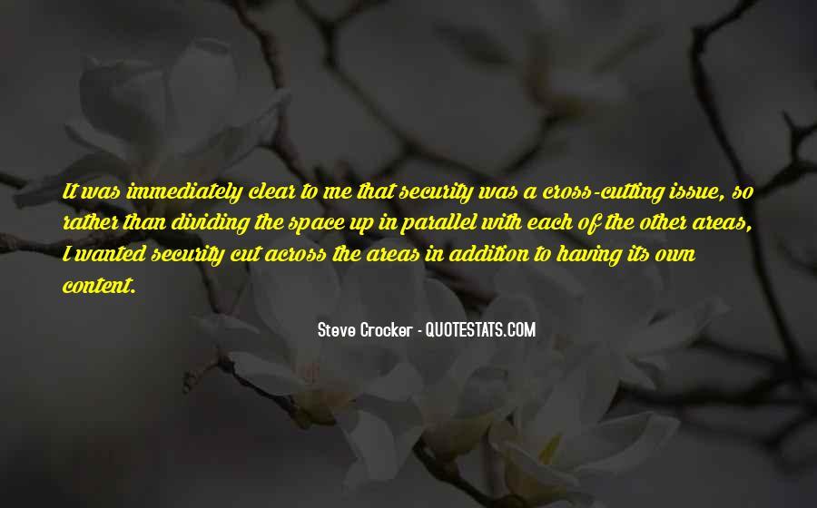 Steve Crocker Quotes #512132