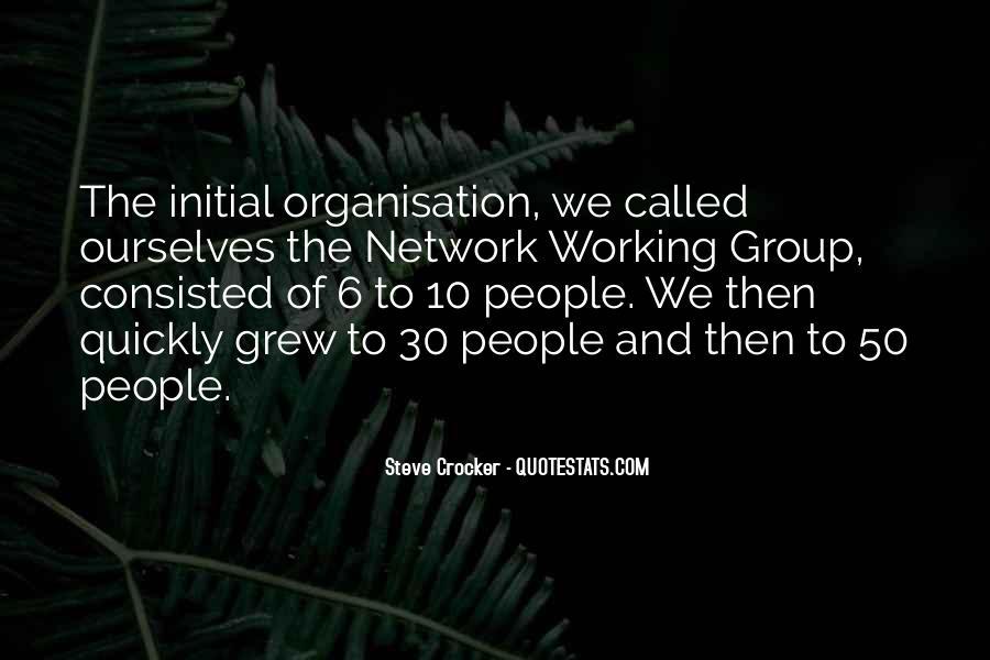 Steve Crocker Quotes #908713