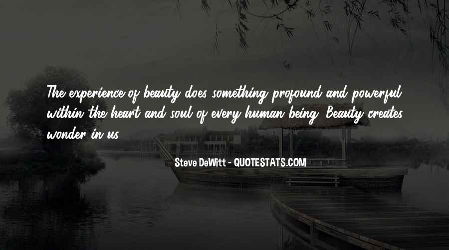 Steve DeWitt Quotes #693387