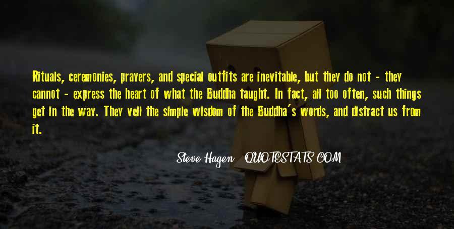 Steve Hagen Quotes #1055102