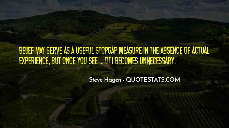 Steve Hagen Quotes #1316826