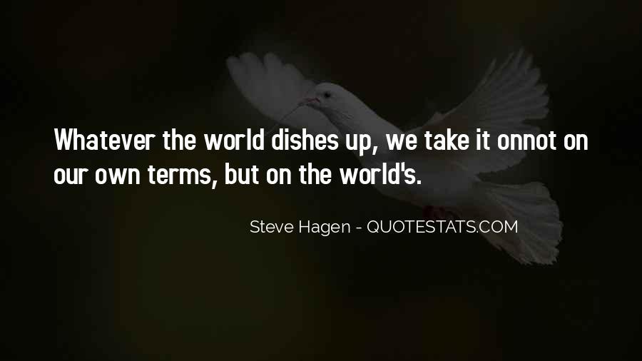 Steve Hagen Quotes #1553609