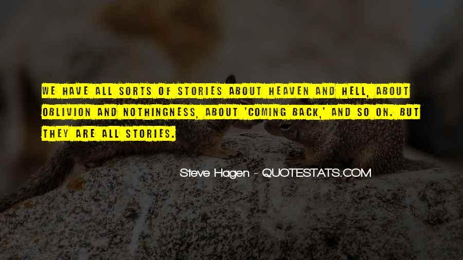 Steve Hagen Quotes #1603502