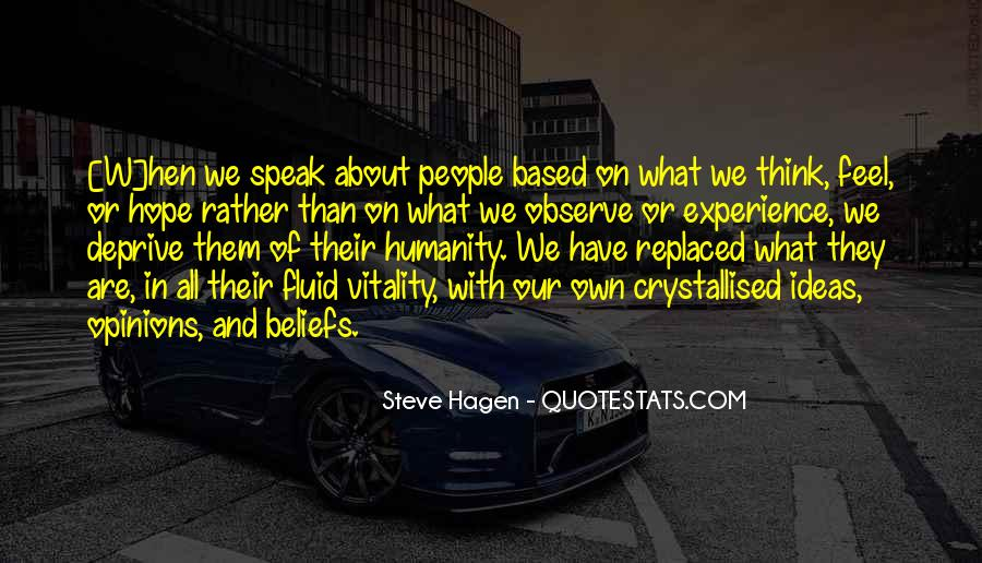 Steve Hagen Quotes #1729794