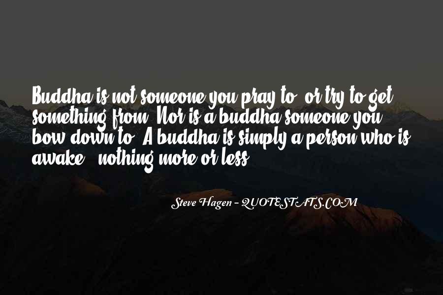 Steve Hagen Quotes #1800649