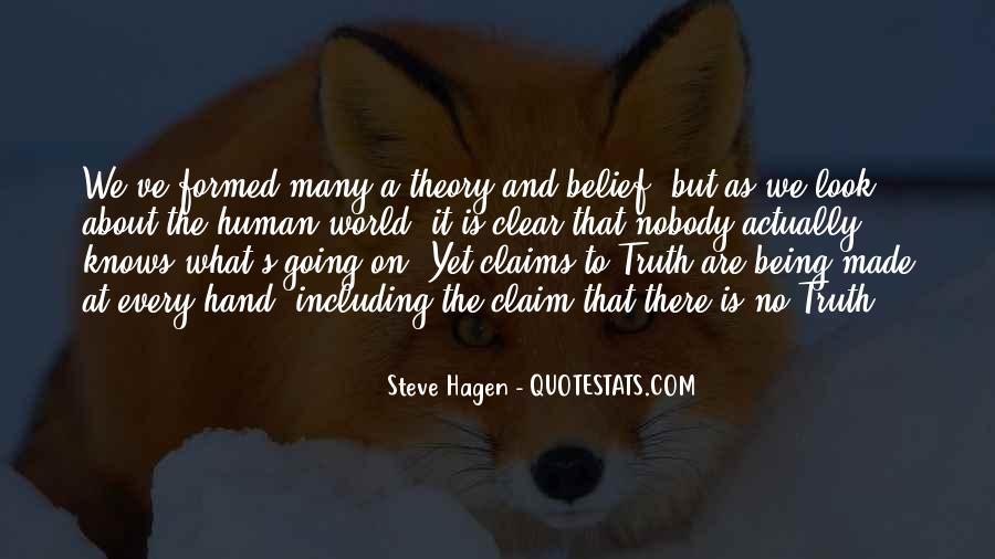 Steve Hagen Quotes #307687