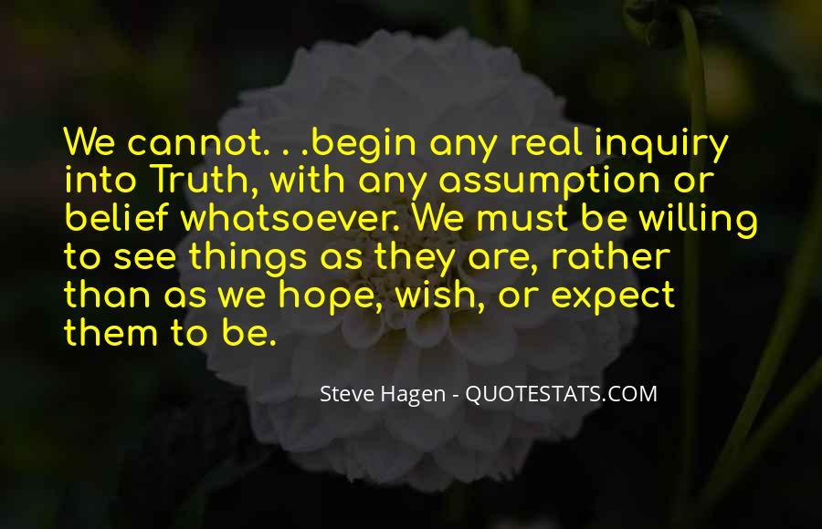 Steve Hagen Quotes #467562