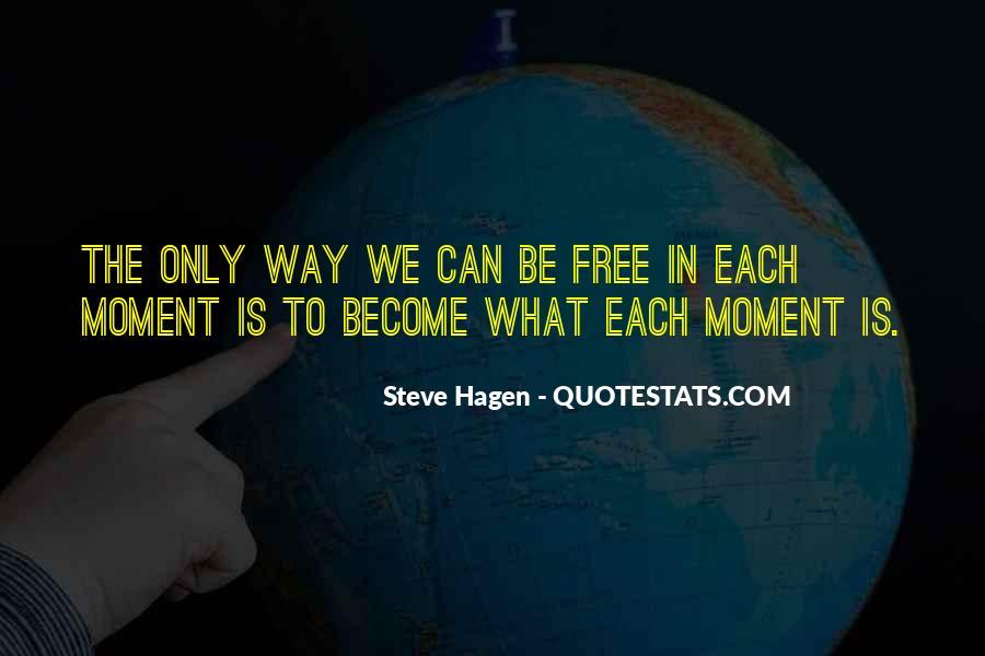 Steve Hagen Quotes #566414