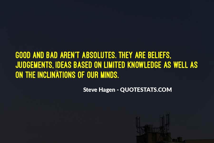 Steve Hagen Quotes #713708