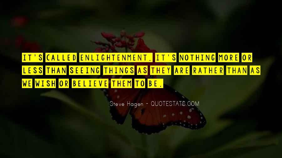 Steve Hagen Quotes #958418