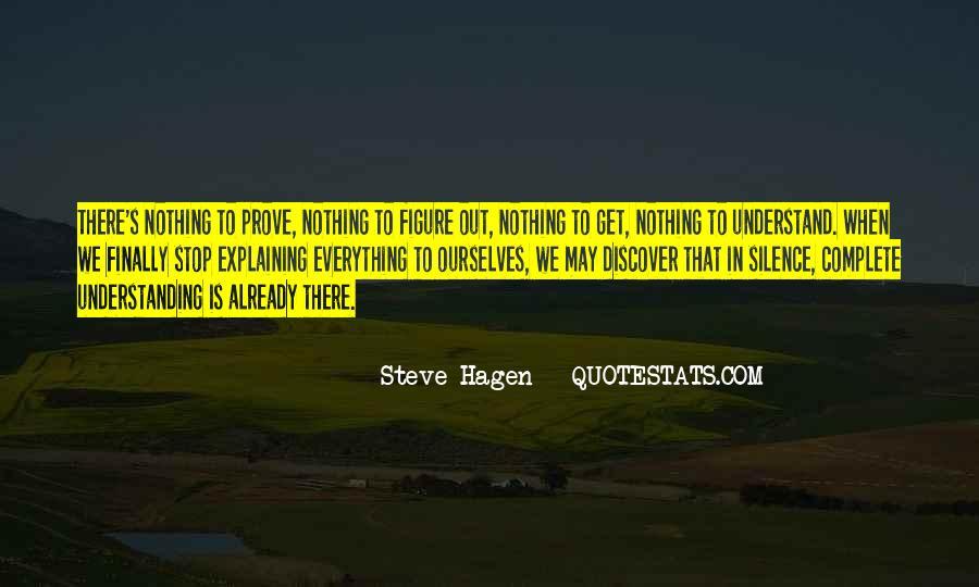 Steve Hagen Quotes #960442