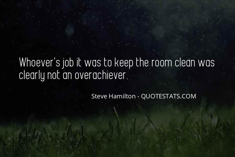 Steve Hamilton Quotes #1436637