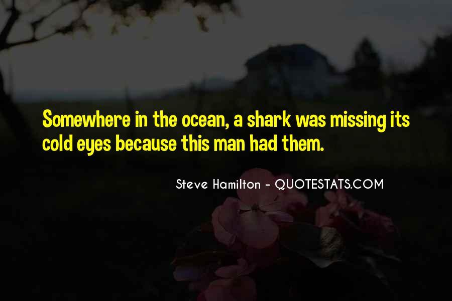 Steve Hamilton Quotes #1642470