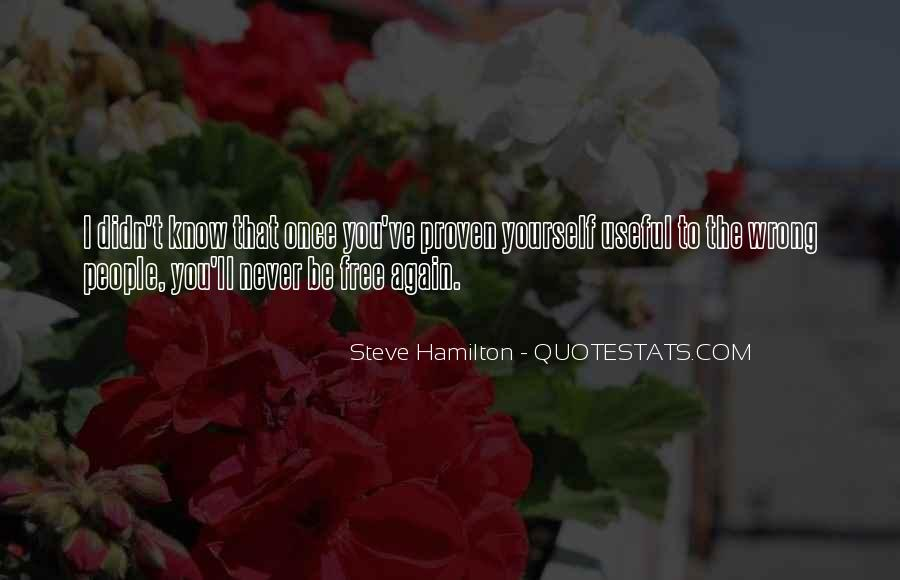Steve Hamilton Quotes #861287
