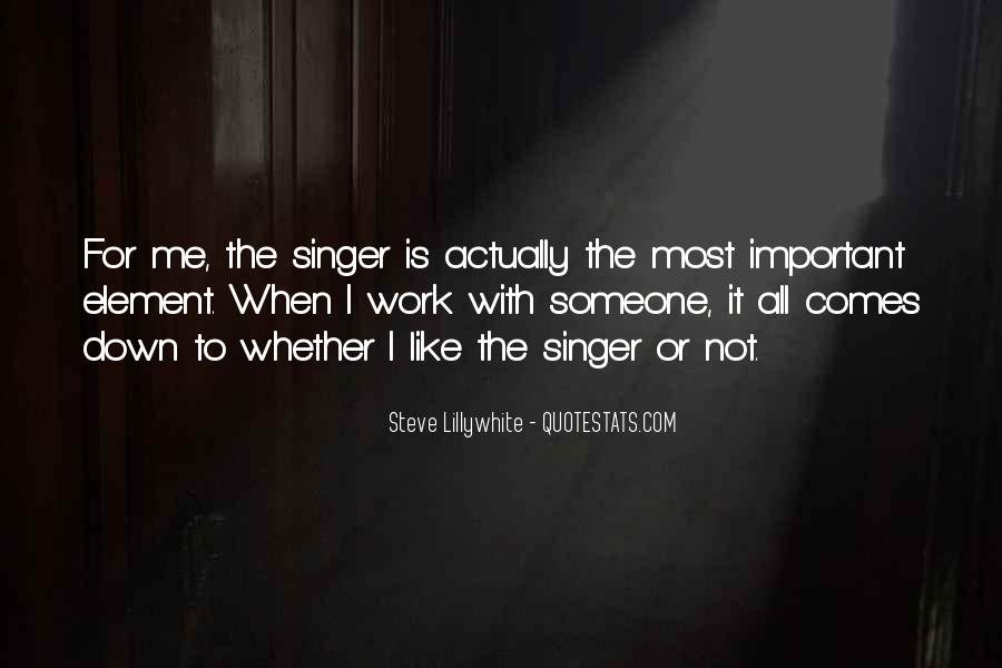 Steve Lillywhite Quotes #6551