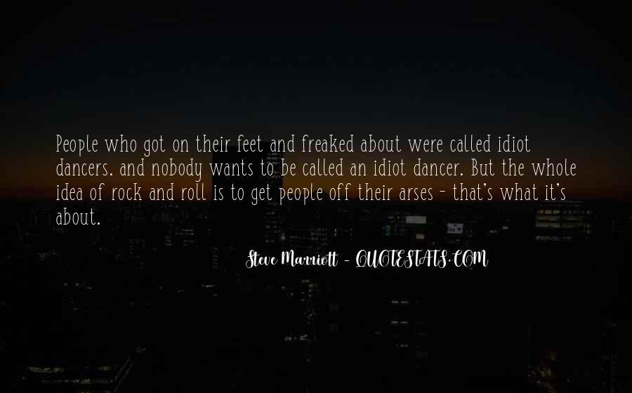 Steve Marriott Quotes #528445