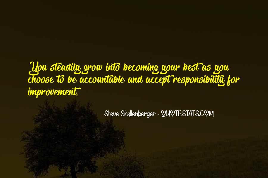 Steve Shallenberger Quotes #912183