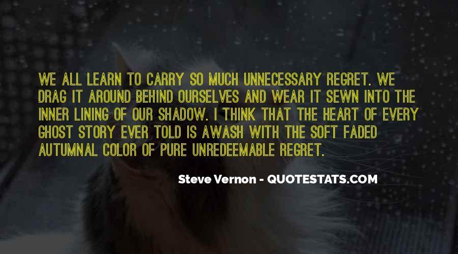 Steve Vernon Quotes #1415295