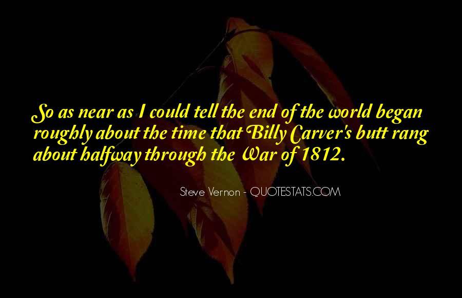 Steve Vernon Quotes #1693115