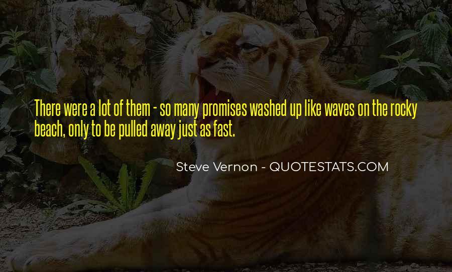 Steve Vernon Quotes #496785