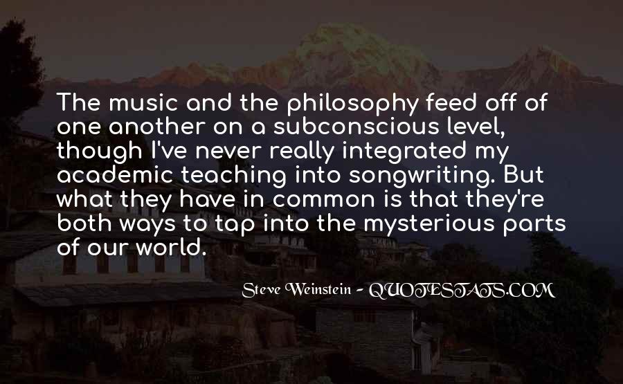 Steve Weinstein Quotes #1423880