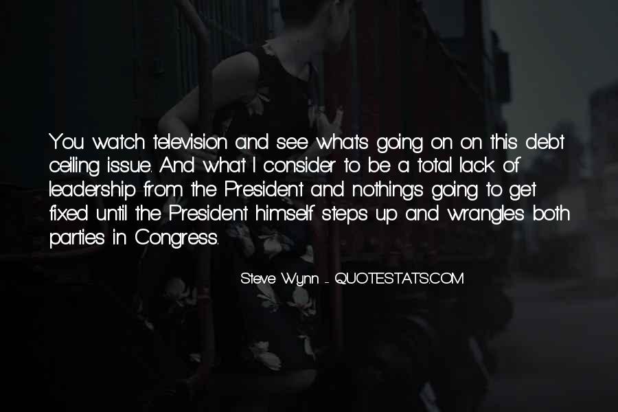 Steve Wynn Quotes #1780293