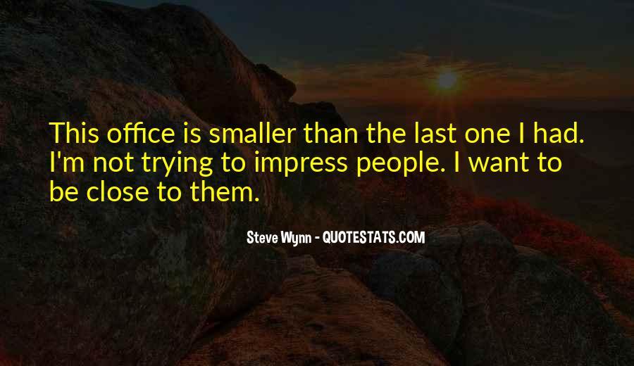 Steve Wynn Quotes #226380