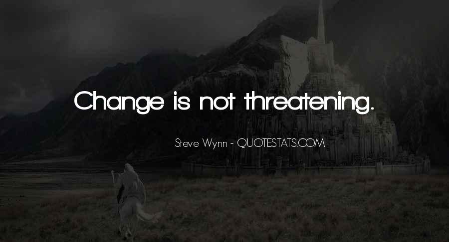 Steve Wynn Quotes #778093