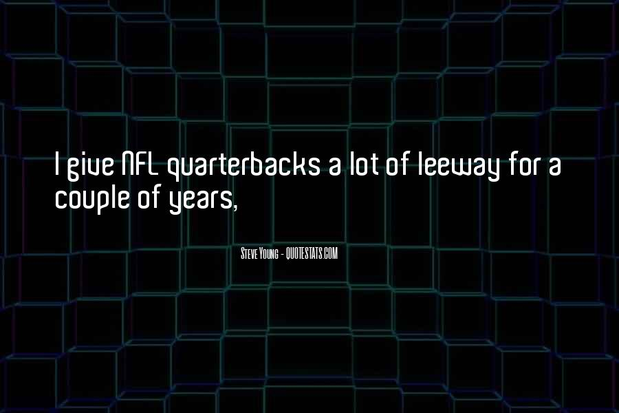 Steve Young Quotes #1317873
