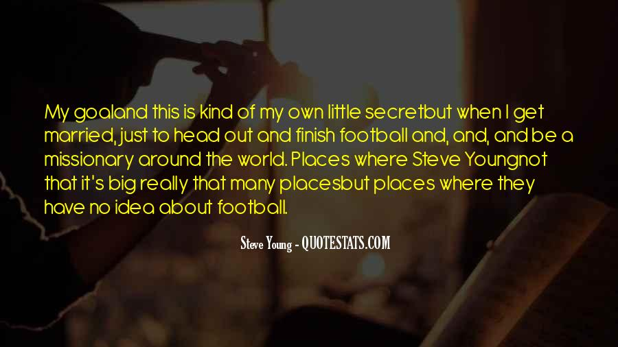 Steve Young Quotes #244864
