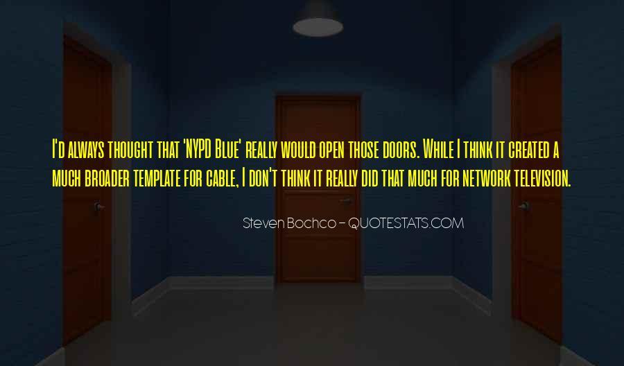 Steven Bochco Quotes #1763828