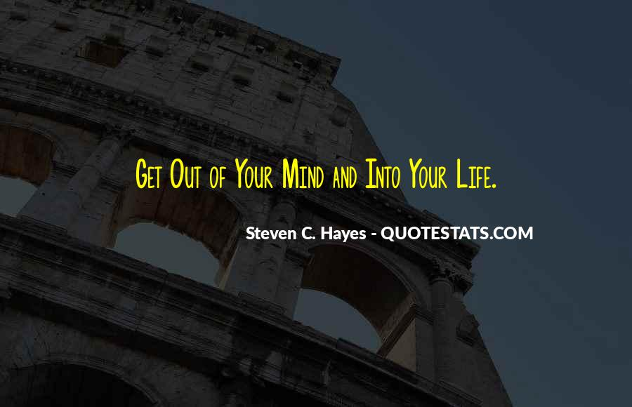 Steven C. Hayes Quotes #20902