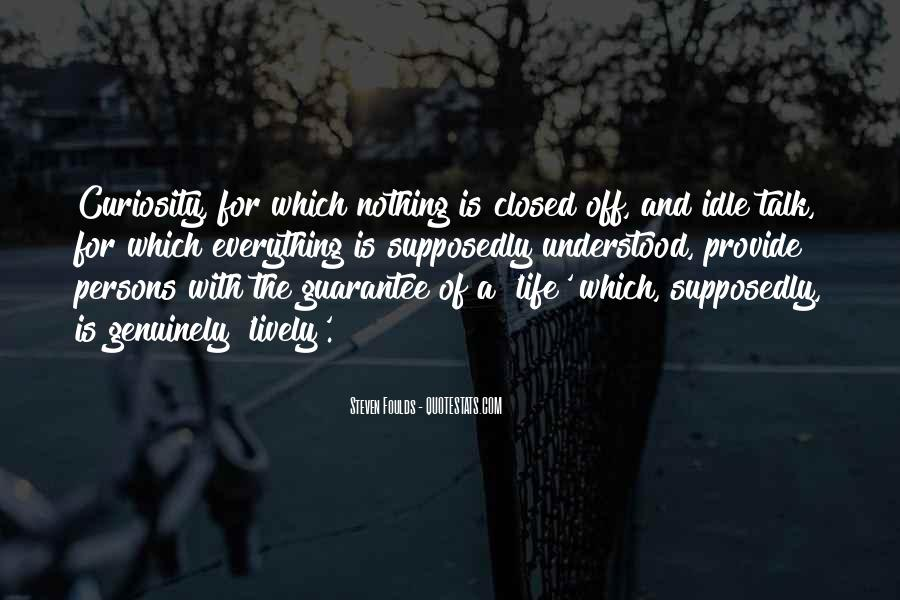 Steven Foulds Quotes #810016