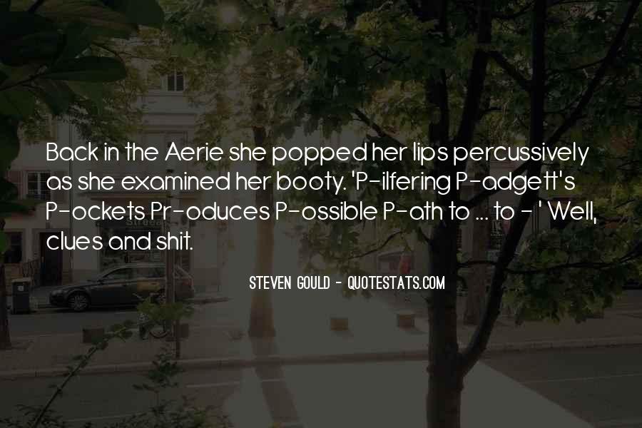 Steven Gould Quotes #1029814