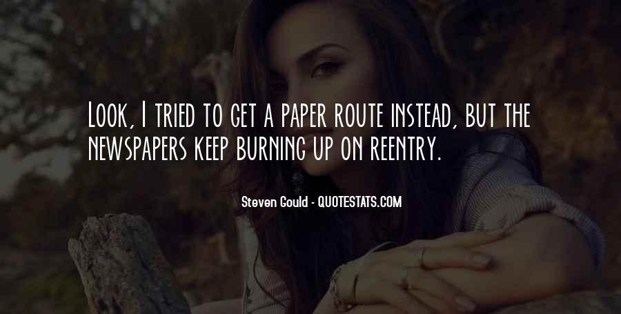 Steven Gould Quotes #1045858