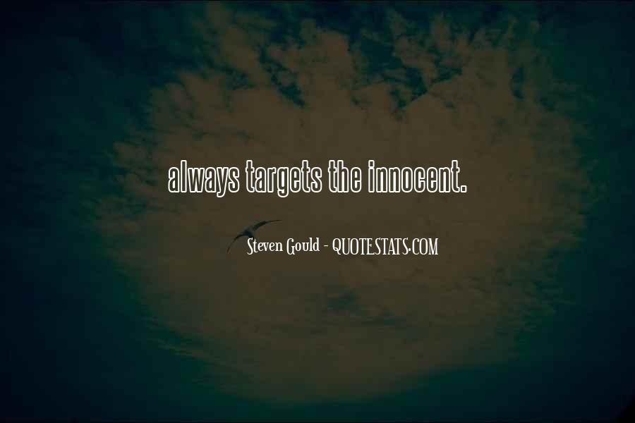 Steven Gould Quotes #1276772