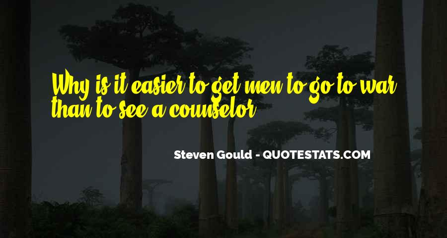 Steven Gould Quotes #51685