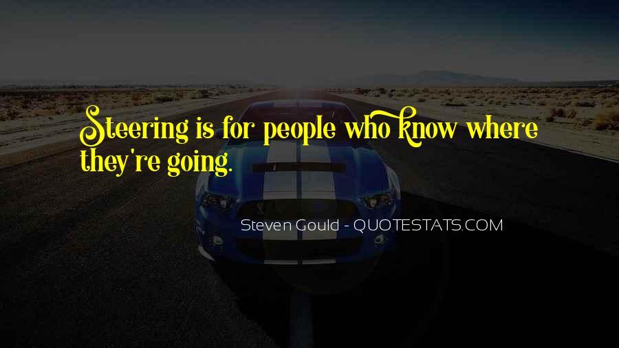 Steven Gould Quotes #621517